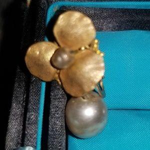 Vintage marked PAT PENDING earrings
